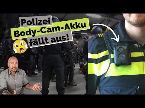 Bodycam versagt bei umstrittenen Polizei-Einsatz in Frankfurt! | Ist mein Akku schuld daran???