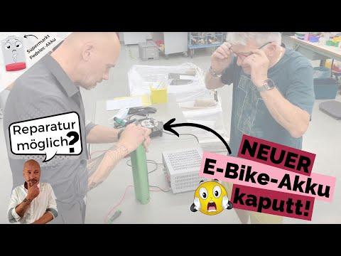 NEUER E-Bike-Akku kaputt! Rettungsversuch durch Batterie-Experten (wird er es schaffen?)