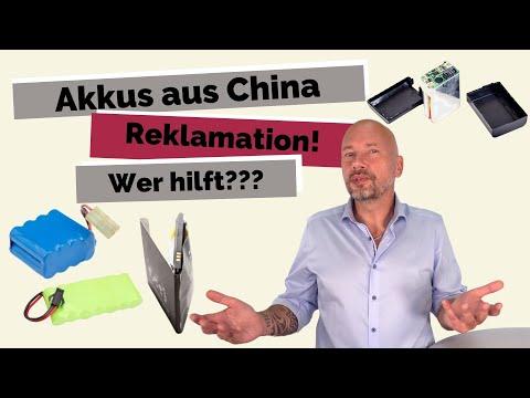 Händler importieren China Akkus   Wer hilft bei Reklamationen?
