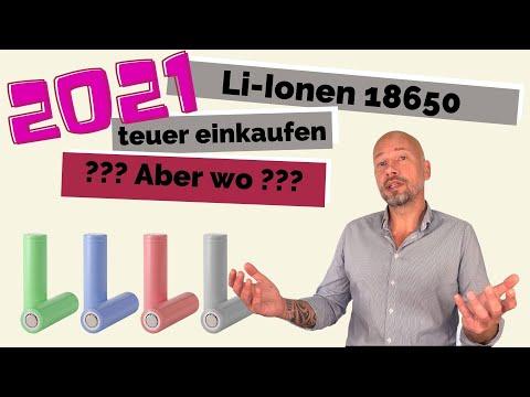 Li-Ion 18650 werden knapp und teuer | Was tun mit laufenden und neuen Projekten?