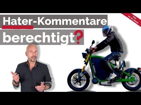 eROCKIT: Hater-Kommentare zum schnellsten E-Fahrrad der Welt   Test vor 10 Jahren + Ausblick