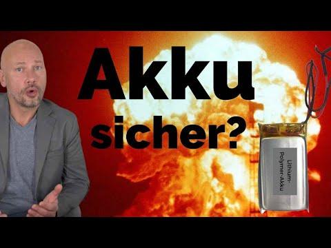 Sind Lithium-Ionen-Akkus sicher?!