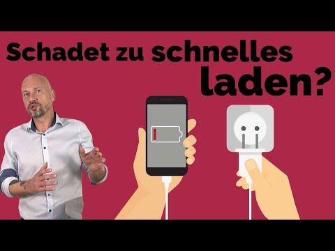 Schnelles Aufladen zerstört Handy-Akku?!