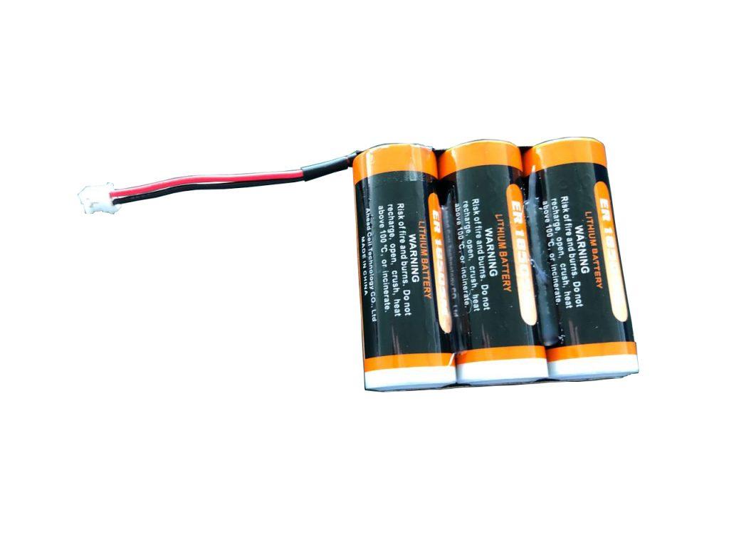 Batterie für Sensoren in Müllcontainern