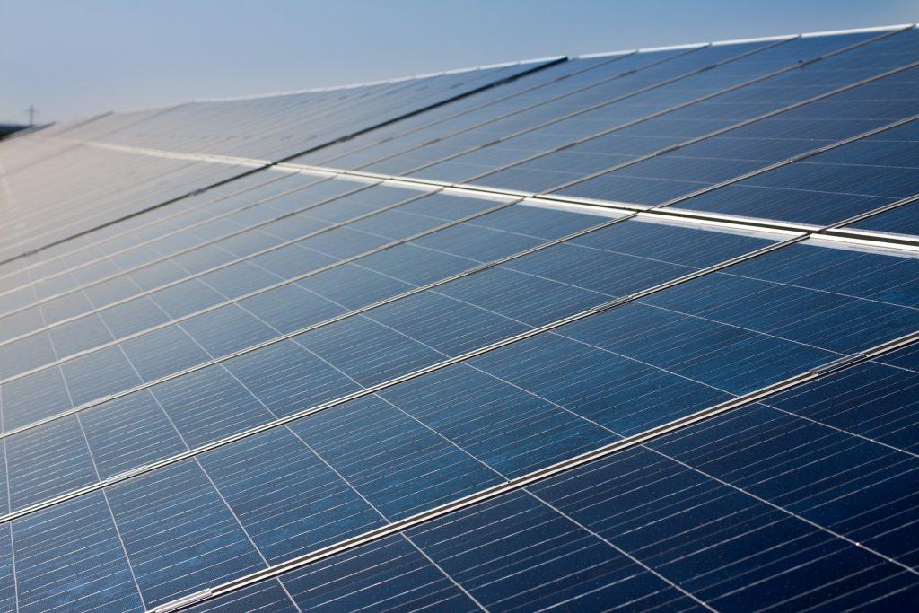 Photovoltaikanlagen auf einem Hausdach
