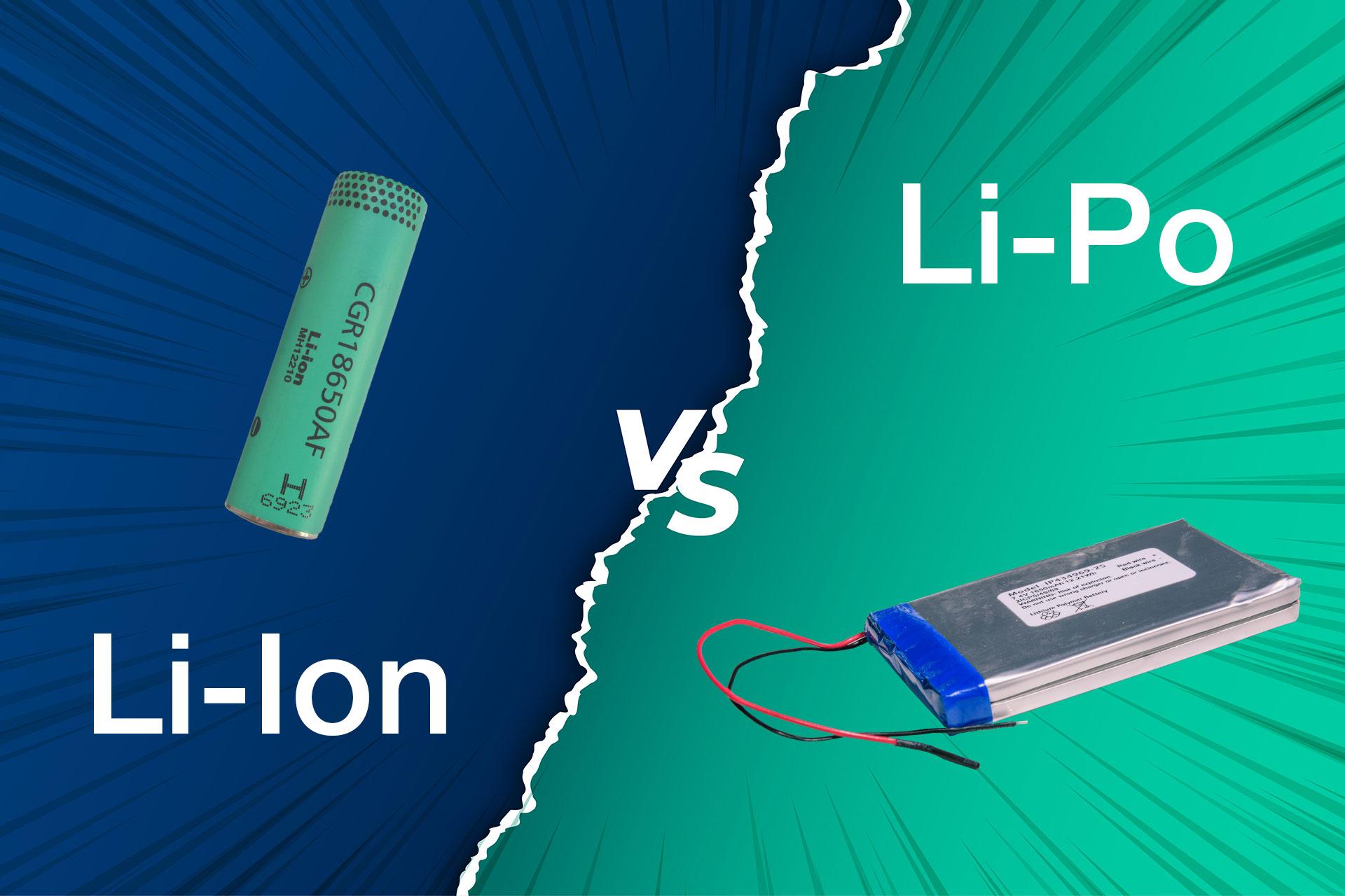 Lithium-Polymer vs Lithium-Ionen-Akku